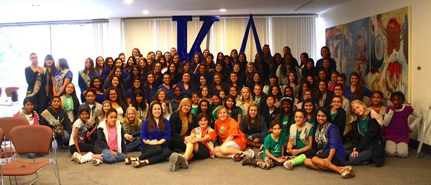 International Girls Day- Cal Poly - Kappa Delta